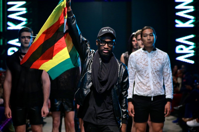 Ara Kani's Nkuleleko Ncube at SA Men's Week PIC: Simon Deiner / SDR Photo