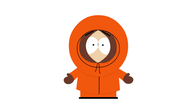 What kenny is actually saying in the south park opening three men on a boat - Pics of kenny from south park ...