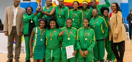 Zimbabwe netball team in Hong Kong PIC: We Sport Images