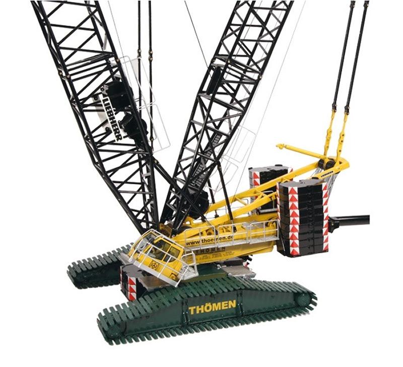 NZG Model Liebherr LR 1600 2 Crawler Crane