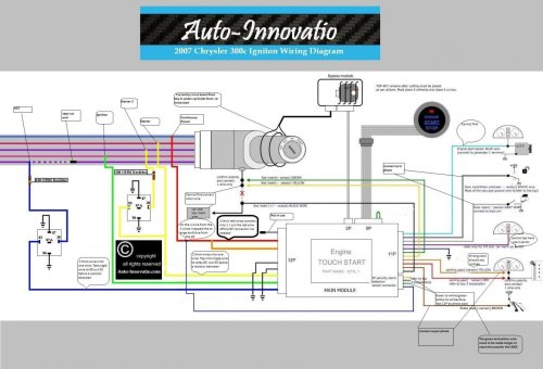 small resolution of touch button 2007 chrysler 300c vehicle igniton wiring diagram 1 jpg