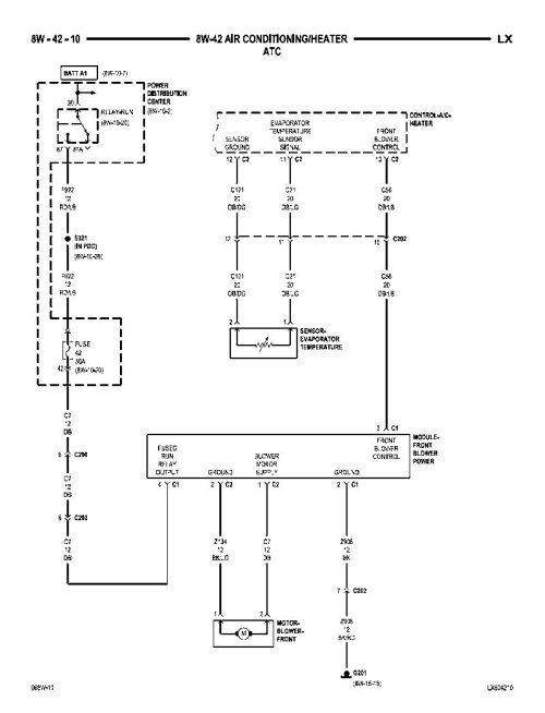 small resolution of chrysler 300 ac wiring diagram get free image about wiring diagram ge ac blower motor wiring diagram town wiring car lincoln diagram blower2005