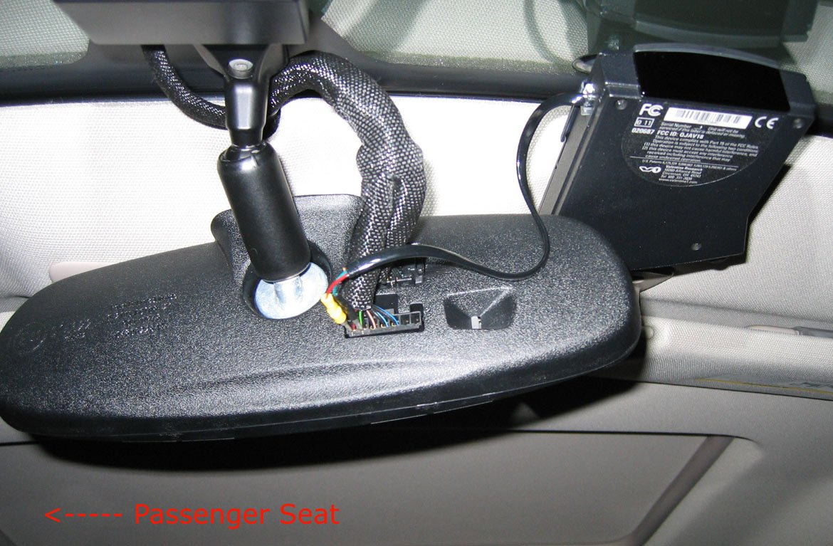 hight resolution of has anyone wired a radar detector to the rear view mirror dodge charger forums