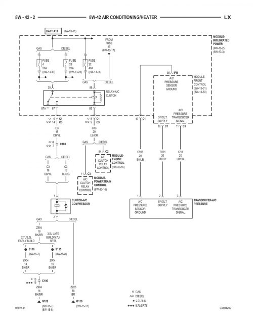 small resolution of 2006 chrysler 300 2 7 rear fuse box fuel pump relay location 2006 chrysler 300 2 7 rear fuse diagram