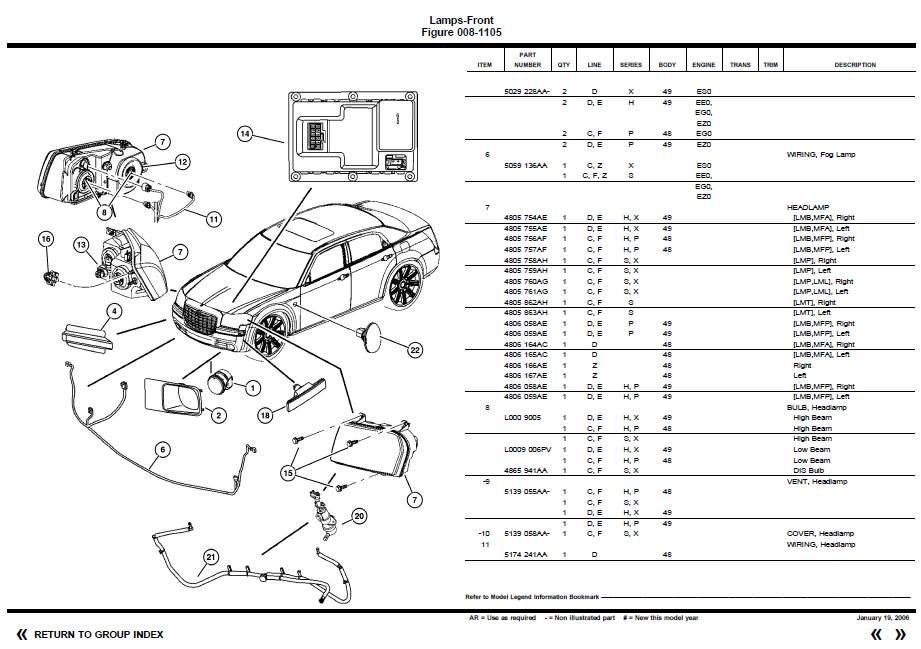 2006 Chrysler 300 Tail Light Wiring Diagram. Chrysler