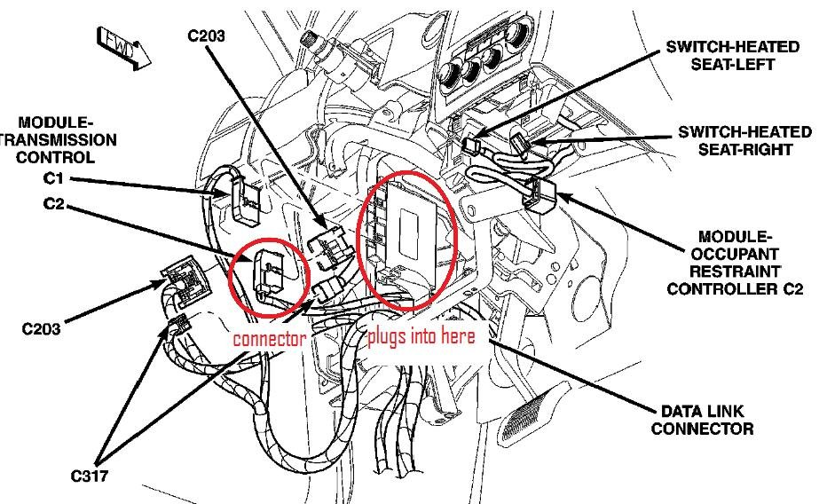 2006 Chrysler 300 Relay Location. Chrysler. Wiring Diagram