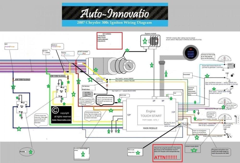 medium resolution of keyless push button start page 11 chrysler 300c forum 300c rh 300cforums com radio wiring diagram
