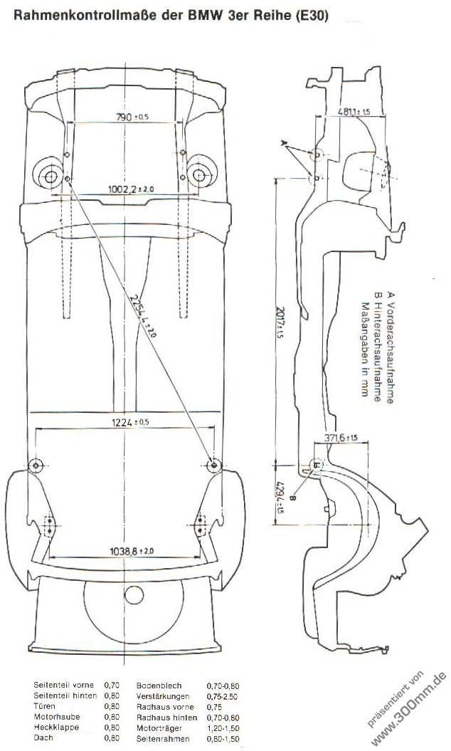 Schaltplan Bmw E24