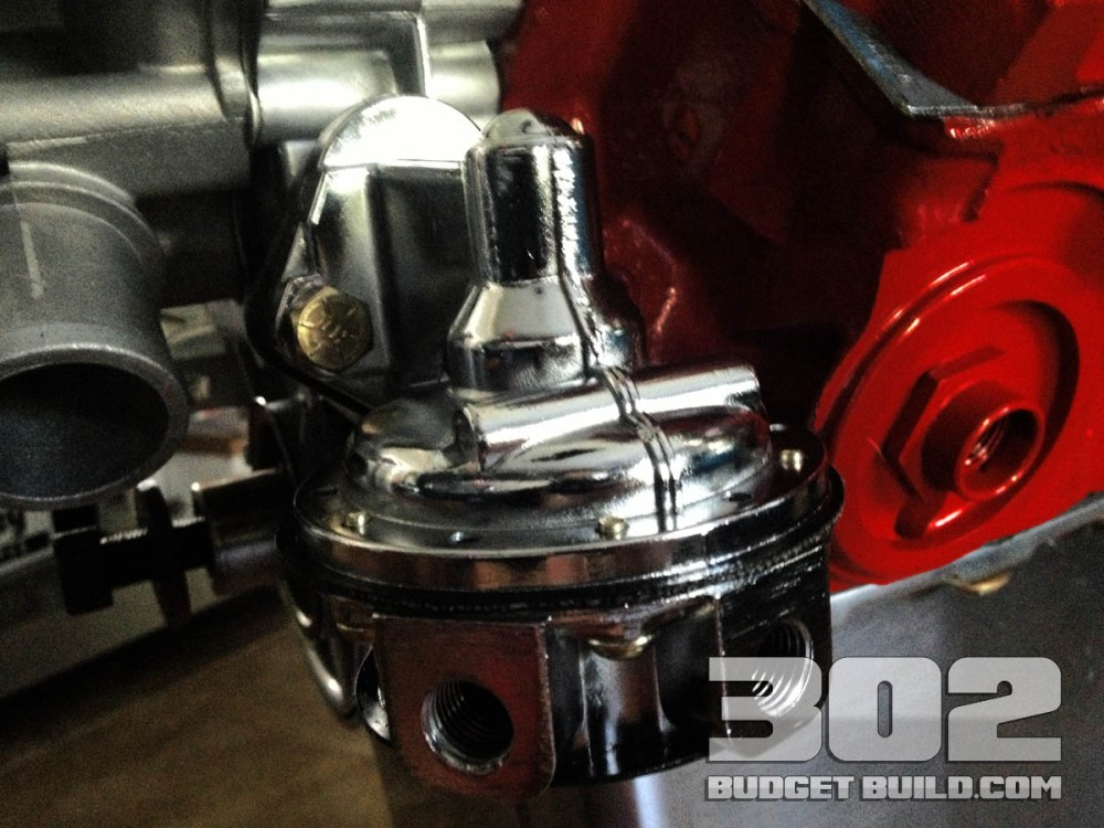 medium resolution of how to install mechanical fuel pump on small block ford 302 holley 12 833