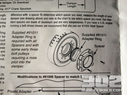 small resolution of how to install a harmonic damper balancer on a small block ford 302