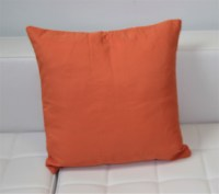 Pillow with Orange Cover