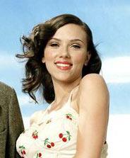 Scarlett Johansson brune