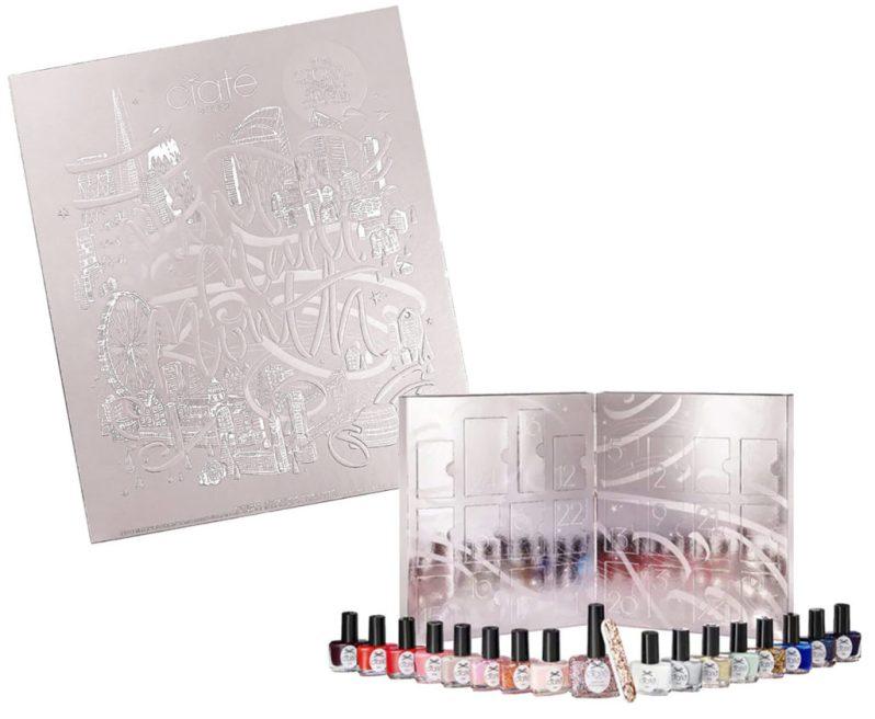 Calendrier de l'avent 2020 beauté et vernis à ongles de Ciaté pour femme adulte qui aime la beauté