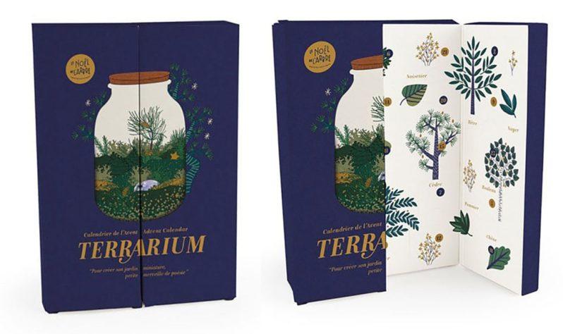 Calendrier de l'avent original terrarium 2020 de Nature et Découvertes pour femme adulte qui aime la créativité et les DIY