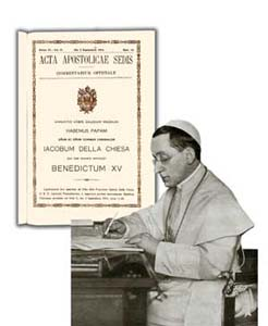 Image result for Acta Apostolicae Sedis