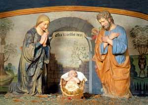 Presepe, Luca della Robbia il Giovane, XVI secolo, convento domenicano di Santa Maria Maddalena, Caldine, Firenze