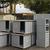 21 grandes niches, 8 niches pour moyens et petits chiens et 10 boîtes à chats ! © SPA refuge du Ramier