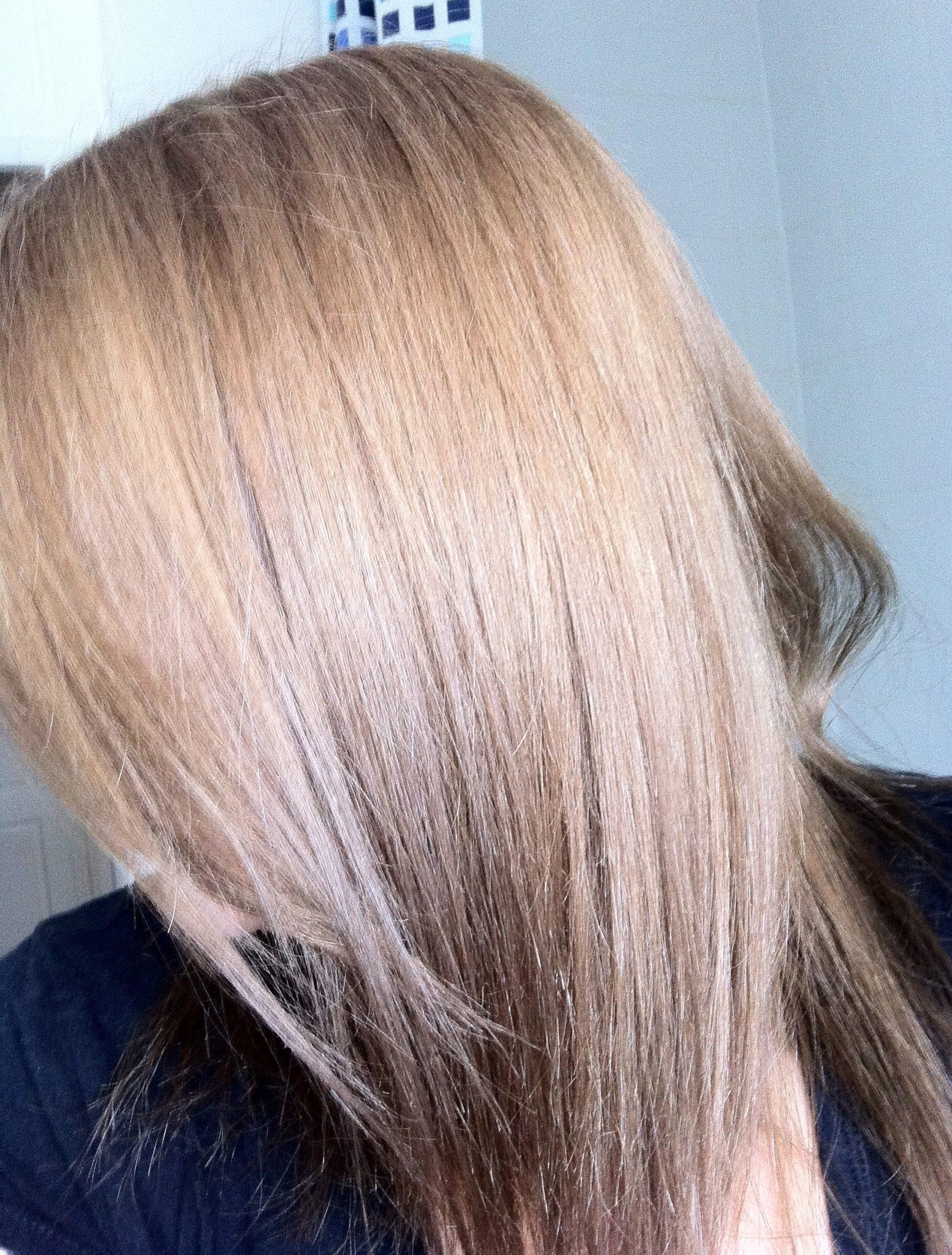 Review Nice N Easy Non Permanent Colour Medium Ash Blonde