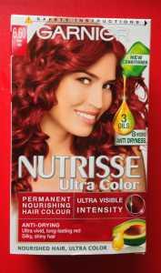 Review: Garnier Nutrisse Ultra Colour Fiery Red 6.60