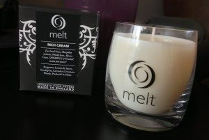 Melt Luxury Glass Jar Candle in Rich Cream