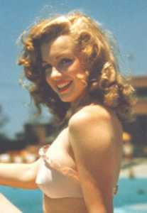 Probably the most famous red haired lady... Maryilyn Monroe