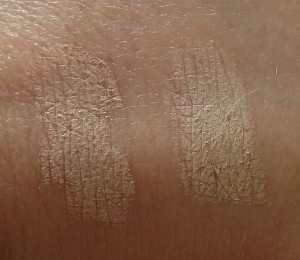 No7 Match Made Concealer in Warm Beige (Left) and Cool Beige (Right) Swatches