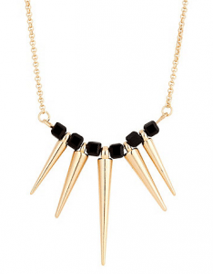 Redherring Spike fan necklace