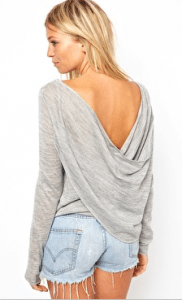 Drape Back Jumper £30 at ASOS