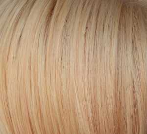 Hair Starting colour, a pale golden yellow with some light orange tones