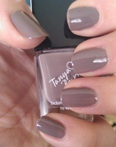Tanya Burr by eyeCandy Pastel Nail Polishes - Penguin Chic