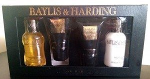 Baylis & Harding Black Pepper & Ginseng 4 Piece Set