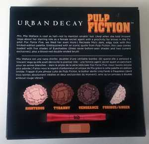 Urban Decay Pulp Fiction Eyeshadow Palette