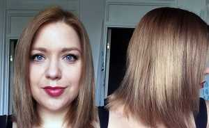 L'Oreal Preference Glam Bronde No.4 - Before using product
