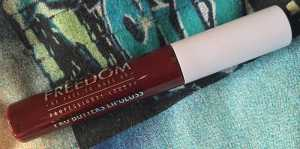 #30DaysOfRed Day 17 - Freedom Pro Butters Lipgloss in TGIF