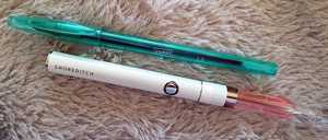 Slim line, in size its almost the same as a Biro pen!