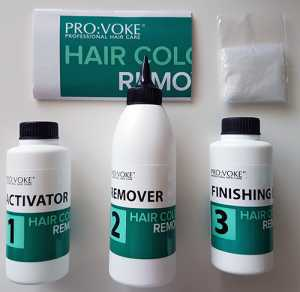Pro:Voke Hair Colour Remover - Box contents