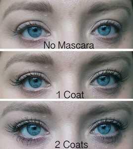 NYX The Skinny Mascara application
