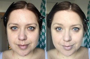 Revolution Conceal & Define Full Coverage Foundation F6.5 and F8 before and after
