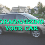 Organizing Your Car for Back to School
