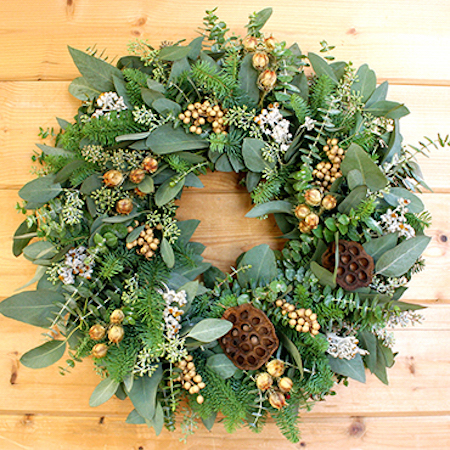 Creekside Farms Fragrant Pod Wreath