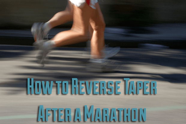 Reverse Taper After Marathon