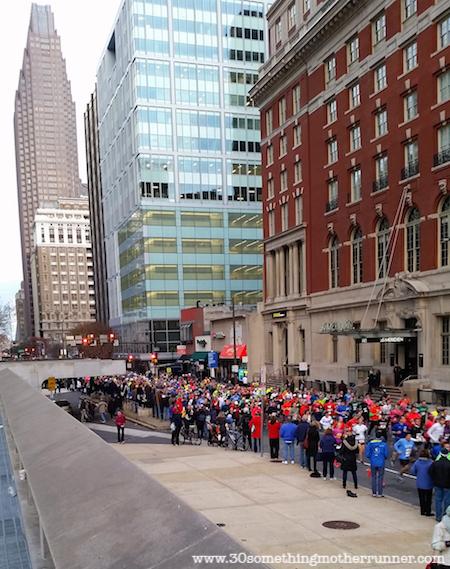 Street view Philadelphia Marathon