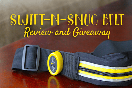 Swift-n-snug running belt review
