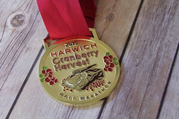 Harwich Cranberry Harvest Half Marathon 2015 Race Recap