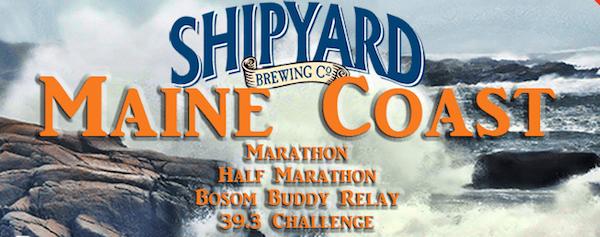 Shipyard Maine Coast Marathon and Half Marathon (with a PROMO code!)