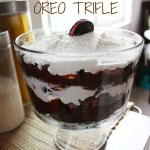 Peppermint Oreo Trifle
