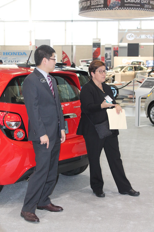 Chevrolet Boston Auto Show