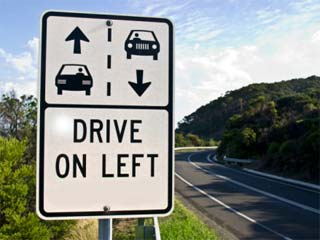 Driving on the Left is an Ancient Medievil Tradition