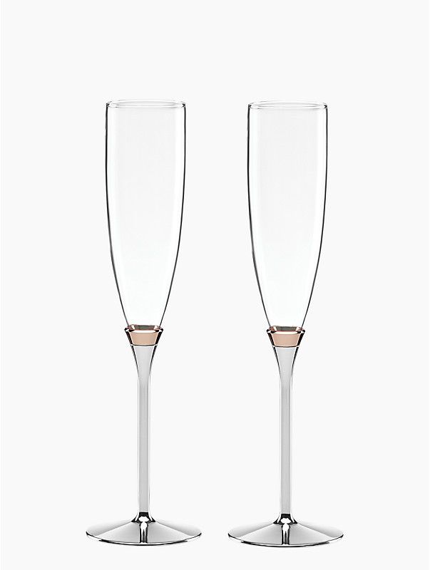 Kate Spade Champagne Flute