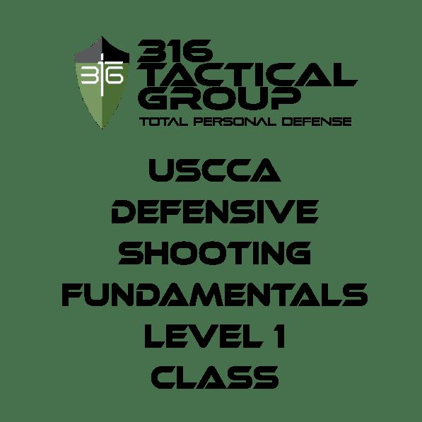 USCCA Defensive Shooting Fundamentals Level 1 Class